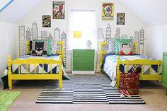 Ocho propuestas con ideas prácticas y estéticas que podés tomar a la hora de decorar el cuarto de tu hijo