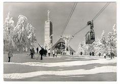 AK Oberwiesenthal, Fichtelberg im Winter