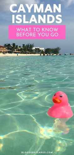 This little island nation, just an hour's flight from Miami, is edged in gin clear water and wrapped with sand like salt around a margarita glass. It's idyllic and wonderful - and here are things you might to know: currency, power points, driving, weather, food, shopping...  #CaymanIslands #Caymantravel #Traveltips