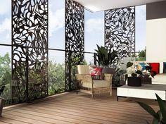 Claustra décorative | balcon | terrasse | brise-vue | brise-soleil | appartement
