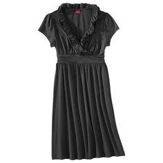 Merona® Women's Cap Sleeve Ruffle Dress - As... : Target Mobile