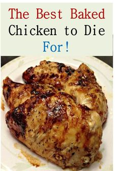 The Best Baked Chicken to Die For! >> This is The Best Baked Chicken to Die For! How to make this baked chicken >> >> Baked Chicken with Garlic and Brown Sugar >> andBrownSugar Turkey Dishes, Turkey Recipes, Meat Recipes, Cooking Recipes, Healthy Recipes, Recipies, Kid Recipes, Baked Chicken Recipes, Recipe Chicken