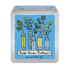 Boite à Homéopathie (+comp) Pratique - bleu