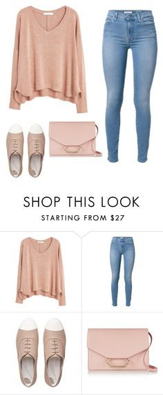 """Untitled #365"" by lusiskot ❤ liked on Polyvore featuring MANGO, FitFlop and Victoria Beckham"