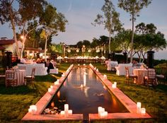 Vintage summer poolside wedding party. Los Cabos. Style Weddings & Events.