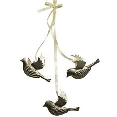 Classique Collection Metal Hanging Birds