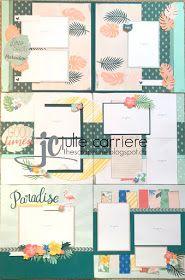 The Scrap Zone: Postcard Perfect Scrapbooking Layouts