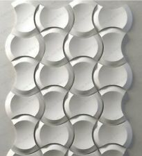Molds For 3d Tile Panels Abs Plastic Form Mold Plaster Wall Stone Wall Art Decor Ebay In 2020 Stone Wall Art Stone Wall Tile Panels