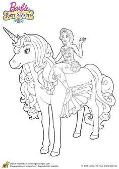 Coloriage Princesse Licorne Imprimer.46 Images Delicieuses De Coloriage Licorne Coloring Pages