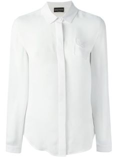 Emporio Armani Chest Pocket Shirt - Tessabit - Farfetch.com