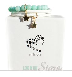 www.facebook.com/milovedesign bracelets made with gold, jades and leather <3