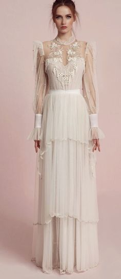 Featured Wedding Dress: Lior Charchy; www.charchy.co.il; Wedding dress idea.