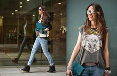 Rock your sneakers! (by Montse O) http://lookbook.nu/look/3288417-rock-your-sneakers