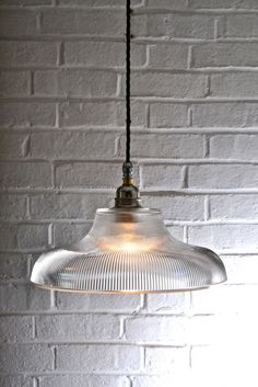 Prismatic Railway Pendant Light