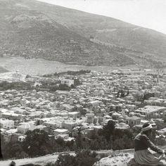 Nablus-نابلس: NABLUS - Late 19th, early 20th c. 34 - Nablus from Mt. Gerizim, 1900 - 1911