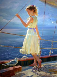 Vladimir Volegov Bon Voyage painting is shipped worldwide,including stretched canvas and framed art.This Vladimir Volegov Bon Voyage painting is available at custom size. Female Portrait, Female Art, Vladimir Volegov, Double Exposition, Beautiful Paintings, Figurative Art, Love Art, Painting & Drawing, Amazing Art