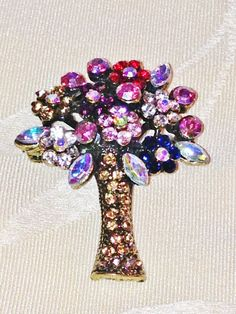 Vintage Convertible Brooch / Necklace Bouquet by NorthCoastCottage