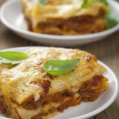 Recette : Lasagnes bolognaises au fromage italien parmigiano reggiano - Recette...