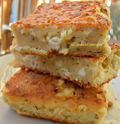Chef Recipes, Sweets Recipes, Greek Recipes, Kitchen Recipes, Cooking Recipes, Chocolate Blanco, Food Tasting, Savoury Dishes, International Recipes