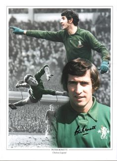 Buy online, view images and see past prices for Peter Bonetti autographed football photo Invaluable is the world's largest marketplace for art, antiques, and collectibles. Peter Bonetti, Football Photos, Buy Now, Image