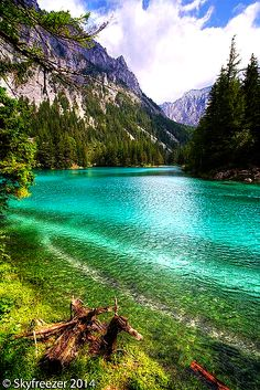 Green lakes, Austria