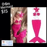 Mermaid Photo Costume Photo Prop. We offer Free Shipping on $30 purchase. Thank you for liking, shopping and sharing.