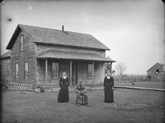 Pioneer home in Wisconsin