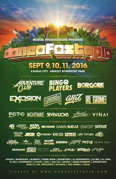 Dancefestopia Drops Huge Lineup With Headliners Excision, Griz, RL Grime + More. Welcome to the USA's only urban camping festival