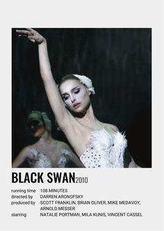 Iconic Movie Posters, Movie Poster Art, Iconic Movies, Good Movies, Film Polaroid, Black Swan Movie, Natalie Portman Movies, Black Sean, Movie Collage