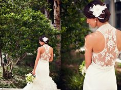 24 unique racerback wedding dresses that make our hearts race! - Wedding Party | Wedding Party