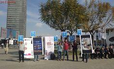 Normalidad en el transporte y en la seguridad en el primer día del congreso de móviles