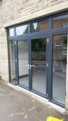 #RAL7016 Anthracite Grey Synseal Extrusions #Warmcore French Doors, side panels and toplight Installed in Buxton, Derbyshire. For a free quotation call us on 01158 660066 Visit Our Website http://www.thenottinghamwindowcompany.co.uk Or Pop In to Our Showroom In West Bridgford.