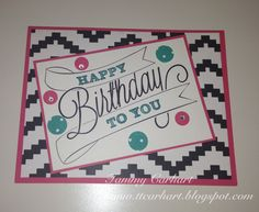 Stampin' Up!, Another Great Year stamp set, Birthday, Kaleidoscope Designer Series Paper, Tammy Carhart