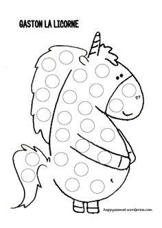 Activités Gaston la Licorne – Happy AssMat Petite Section, Gaston, Fairy Tales, Crafts For Kids, Preschool, Snoopy, Kids Rugs, Symbols, Letters