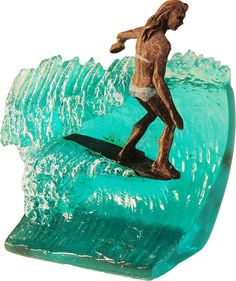 Surfing Surfer Sculptures Statues by Phil Roberts  Weblink:  http://philroberts.com/2013/12/07/sculpture/ Facebook:  https://www.facebook.com/PhilRobertsArtist Secondary Weblink: http://surfmorexm.com/accessories