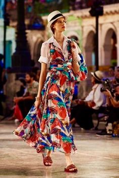 Chanel's 2017 Resort collection was launched in Havana.