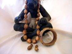 African Gorgeous Resin Bead Necklace set    (BL7)