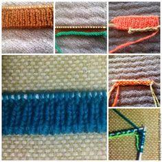 Knitting&Design: Итальянский набор петель - альтернатива.