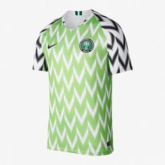 2018 Nigeria Stadium Home Jersey Soccer World Cup Football WC - Large 11f8ddda8f4e1