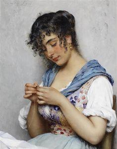 Artworks of Eugene de Blaas (Austrian, 1843 - 1931)