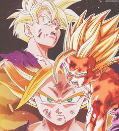 "guttamanation: ""Release it Gohan! Remember all the pain he's… Gohan Vs Cell, Goku And Gohan, Son Goku, Dragon Ball Z, Dragon Ball Image, Clannad, Gorillaz, Goten Y Trunks, Fairytail"