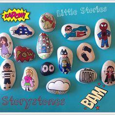 Little Stories, Storystones! Another superhero & villain set sent off for…