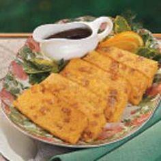 Southern Scrapple Recipe http://www.tasteofhome.com/Recipes/Southern-Scrapple