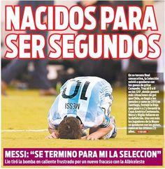 Además de perder la final con Chile y la renuncia de Messi, se acelera la investigación de ilícitos en la AFA.