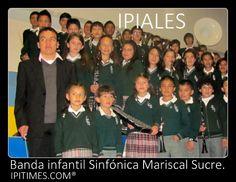 """IPIALES, DEPARTAMENTO DE NARIÑO, COLOMBIA - S., 29 JUN 2013. La Banda infantil Sinfónica """"Mariscal Sucre"""", de Ipiales, se prepara para el Concurso departamental de Bandas, en Samaniego, Nariño, Colombia, en agosto."""