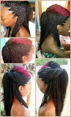 images about Crochet braids on Pinterest Crochet braids, Marley hair ...