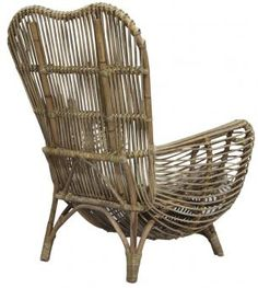Catherine Rattan Arm Chair. A Block and Chisel Product.