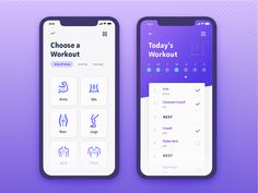 Daily Ui Challenge 041 - Workout Tracker - Daily Ui Challenge 041 – Workout T. - Expolore the best and the special ideas about App design Ui Design Mobile, Ios App Design, Interface Web, Interface Design, Design Responsive, Template Web, Card Ui, Challenge, App Design Inspiration