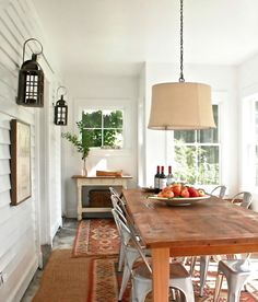 Beautiful enclosed porch makeover...