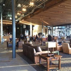 Watermark Community Church Coffee Shop in Dallas + Ft Worth is a great place to work from. Access to power outlets. Outdoor seating is available. Free WiFi.